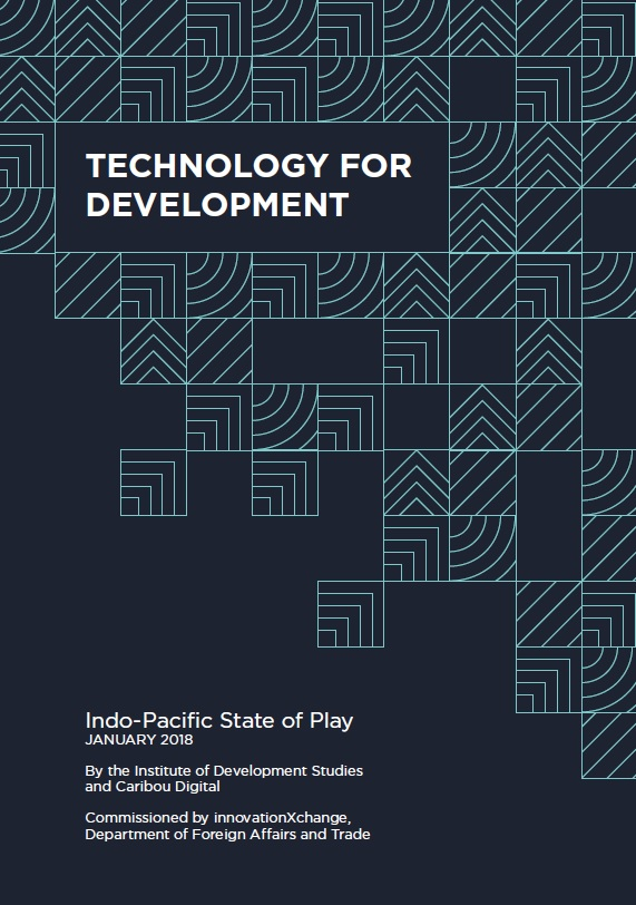 Technology for Development: Indo-Pacific State of Play report cover